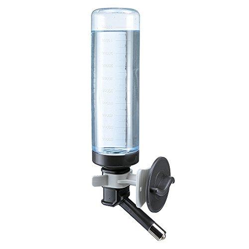 Ferplast 71981099 Trinkflasche Drinky Dog für Metallgitter, Maße: 7 x 11 x 31 cm