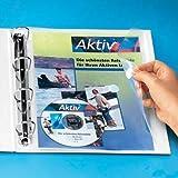 10x Foldersys Dokumententaschen (multiperforado, tamao A4, PP, vertikal, 10Stück, transparent