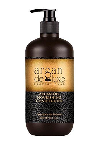 Arganöl Conditioner in Friseur-Qualität  stark pflegend  Geschmeidigkeit, Glanz, toller Duft  Argan DeLuxe, 300ml