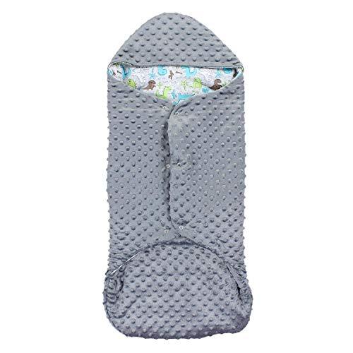 TupTam Baby Einschlagdecke für Babyschale Wattiert