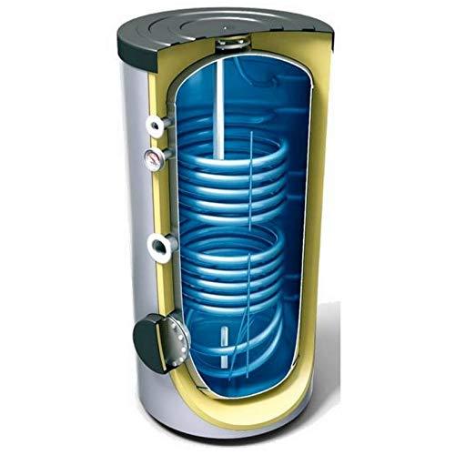 200 300 400 500 800 1000 L Liter Warmwasserspeicher mit 2 Wärmetauscher, Trinkwasserspeicher, Solarspeicher, Standspeicher, Elektrospeicher