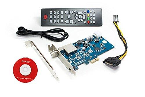 DVBSky S950 PCIe Karte (Low Profile) mit 1x DVB-S2 Tuner
