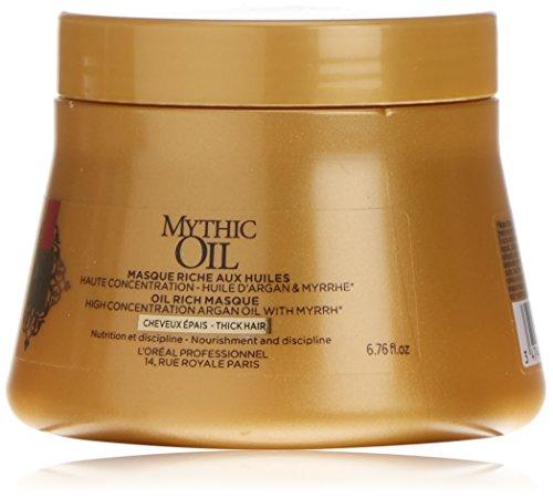 L'óreal Mythic Oil Haarkur mit Argan-Öl für dickes Haar - 200 ml