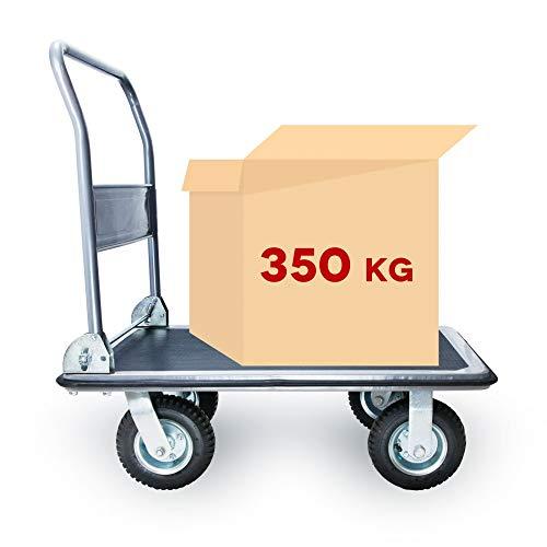 Grafner SCHWERLAST Plattformwagen | bis 350 kg Tragkraft | klappbar