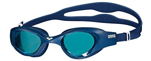 arena Unisex Training Freizeit Schwimmbrille The One (UV-Schutz, Anti-Fog Beschichtung, Harte Gläser)