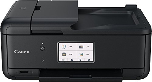 Canon Pixma TR8550 All-in-One Farbtintenstrahl-Multifunktionsgerät (Drucker, Scanner, Kopierer, Fax, USB, WLAN, LAN, Apple AirPrint) schwarz