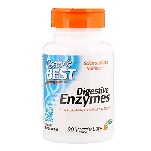 Doctor's Best Verdauungsenzyme (Digestive Enzymes), 90 vegane Kapseln, glutenfrei