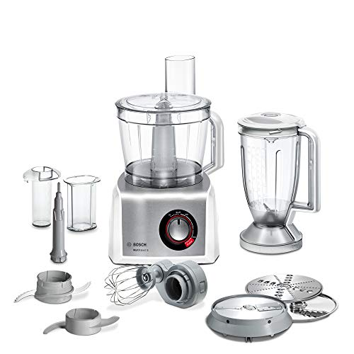 Bosch MC812S814 MultiTalent 8 Kompakt Küchenmaschine, Kunststoff, weiß