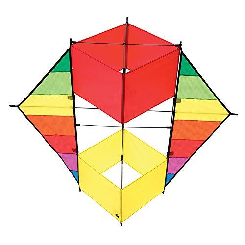 Invento 106373 - F-Box Beach Rainbow Einleiner, Ab 8 Jahren, 85 x 100 cm Ripstop-Polyester 1-5 Beaufort