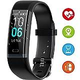 Winisok Fitness Armband mit Pulsmesser Blutdruck, Wasserdicht IP68 Fitness Tracker Smartwatch GPS Aktivitätstracker Pulsuhren Blutdruckmesser Vibrationsalarm Anruf SMS für Damen Männer