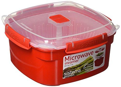 Sistema Behälter für Dampfkochen In Mikrowelle, Mittel, 2,4L