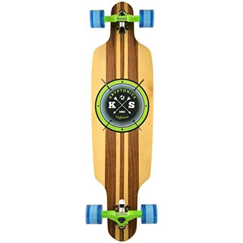 Kryptonics Erwachsene SK15161949 Longboard 38' Drop-Through, Skateboarding/Skaten, Sport & Freizeit-Cast Off, Mehrfarbig, M