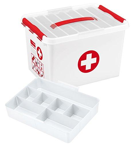 Sunware Erste Hilfe-Aufbewahrungskasten, Größe XL, 22 l