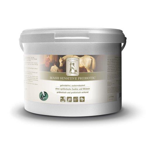 Mühldorfer Mash-Futter für magere und geschwächte Pferde, Zur Energielieferung, Mash Sensitive Prebiotic, 3 kg