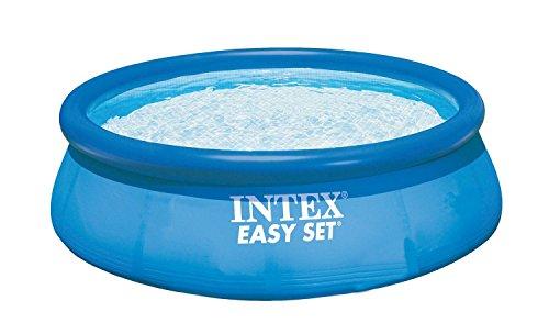 Intex Aufstellpool Easy Set Pools, Blau, Ø 366 x 91 cm