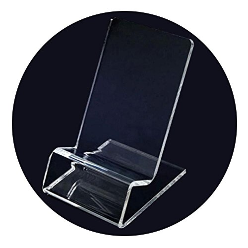 Blue Vessel Transparent Acryl Handy Ausstellungsstand Halter Mobiltelefon Stand Phone Display Stands
