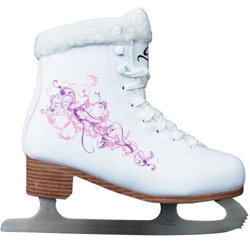Cox Swain Figur Damen + Kinder Eiskunstlauf Schlittschuh Flower - alle Größen, Size: 37