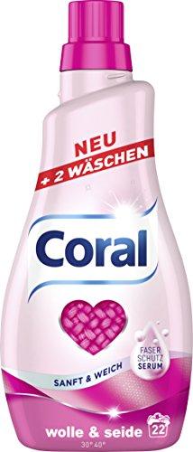 Coral Wolle und Seide flüssig 44 WL, 2er Pack (2 x 22 WL)