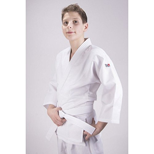 Ippon Gear Kinder Judoanzug Beginner, weiß, 140, JI250