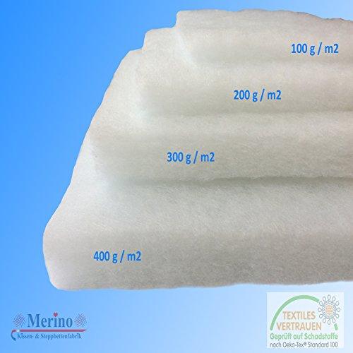 Volumenvlies Polsterwatte Vlies Vlieswatte 160cm breit (400 g/m2 160cm Breit)