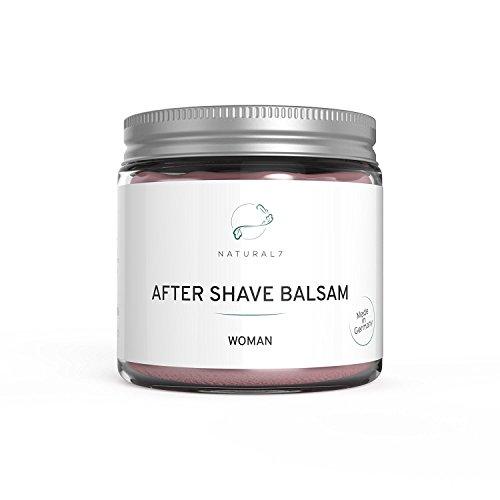 Natural7 After Shave Balsam Woman - NEU - Die beste Methode gegen Pickel nach der Rasur - (1 x 200 ml)
