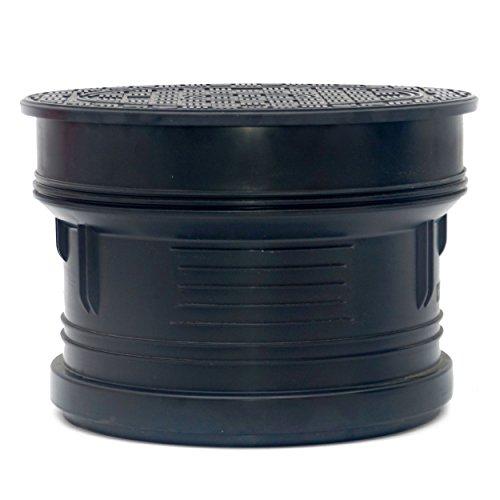 Schachtabdeckung Schachtdeckel DN315 A15 Wasserdicht Geruchverschluss Kunstoff Rund Voll PS315