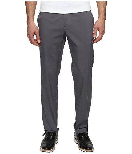 Nike Herren Flat Front Golfhose, Dark Grey, 32-34