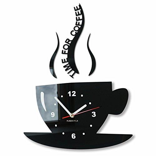 Actimn Moderne Küchenwanduhr Cup