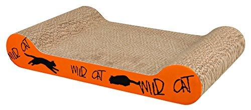 Trixie Wild Cat Scratching Karton, 41x 24x 7cm, orange