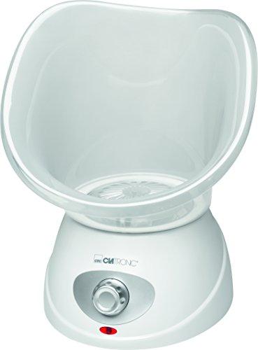Clatronic GS 3656 Gesichtssauna zur Gesichtspflege mit Inhalator und Aromaaufsatz