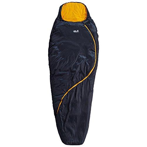 Jack Wolfskin Damen Kunstfaserschlafsack blau Einheitsgröße