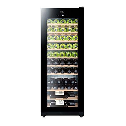 Haier WS50GA Weinkühlschrank / 127 cm Höhe/LED Display zur Temperatureinstellung, Temperaturalarm