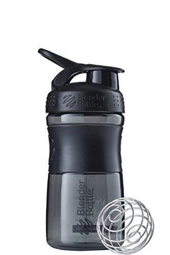BlenderBottle Sportmixer Tritan Shaker | Protein Shaker | Wasserflasche | Diät shaker Fashion Black (820ml)