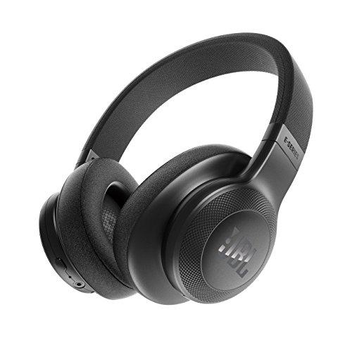JBL E55BT Kabelloser Over-Ear-Kopfhörer, schwarz