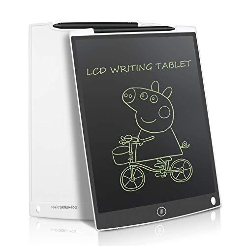 NEWYES Writing Tablet LCD Schreibtafel Digital Zeichentafel 12 Zoll - Weiß