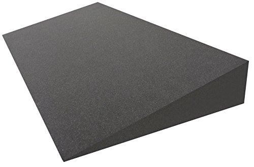 Dibapur Keilkissen Matratzen Matratzenkeil Matratzenerhöhung Hochlagerungskeil fürs Bett (Ohne Bezug) (B 90 x T 50 x H 15 / 1cm)