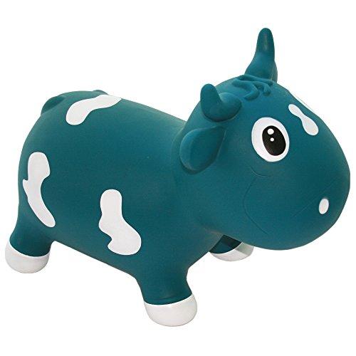 VER B.V. KFMC130111 Hüpftier 'Bella the Cow', blau