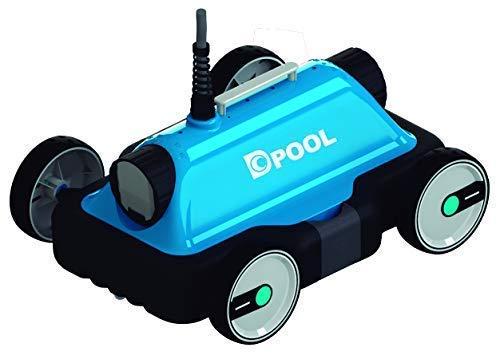 well2wellness Elektronischer Poolroboter 'DPOOL Mini' für Schwimmbäder und Aufstellbecken