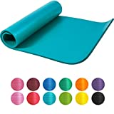 GORILLA SPORTS Yogamatte 190 x 60/100 x 1,5 cm für Fitness, Pilates, Gymnastik – Sportmatte in 12 verschiedenen Farben, Rutschfest und phthalatfrei