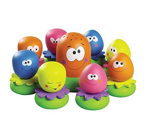 TOMY Wasserspiel für Kinder 'Okto Plantschis' mehrfarbig - hochwertiges Kleinkindspielzeug - Spielzeug für die Badewanne - ab 12 Monate