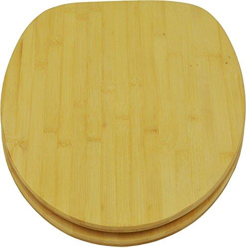 sanicomfort WC-Sitz Bambus, natur, 1846418