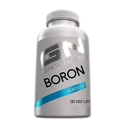 GN Laboratories Health Line Boron Bor Spurenelement Gesundheit Wohlbefinden 120 Caps