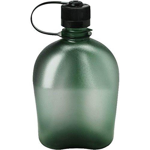 Nalgene Trink und Kunststoff flasche, Oasis Foliage/Everyday Black Loop Top, 1.0 Liter, 1777-9950