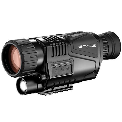 8x40 Infrarot Nachtsichtgerät Monokulare HD Digitalkamera mit Video-Wiedergabe USB-Ausgang Funktion für Jagd und Wildtiere 200m bei Dunkelheit Nachtsicht