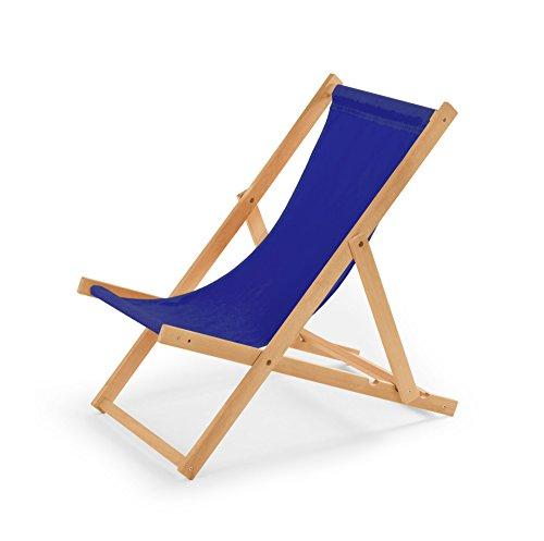 IMPWOOD Gartenliege aus Holz Liegestuhl Relaxliege Strandliege Holzliege