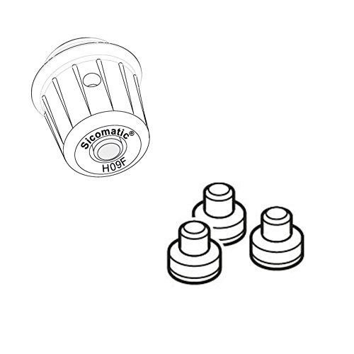 Silit Ersatzteil Aromaschutzkapp Sicomatic t-Plus/T/L/SN 3-Teilig