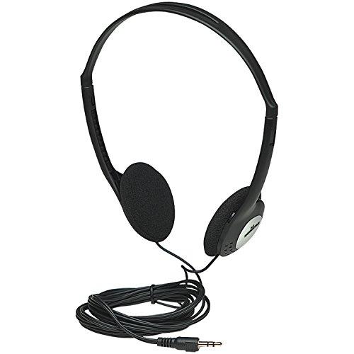 Manhattan Stereo Kopfhoerer Ultraleicht mit verstellbarem Kopfbuegel Leichter Anschluss mit 3,5 mm Stereo-Klinkenstecker 177481