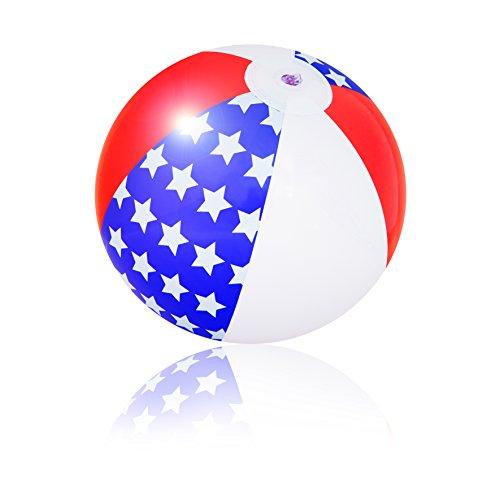 PI-PE Wasserball aufblasbar 29 cm Strandball Weltkugel Atlas Globus Wasserball - tolle Motive - 29 cm