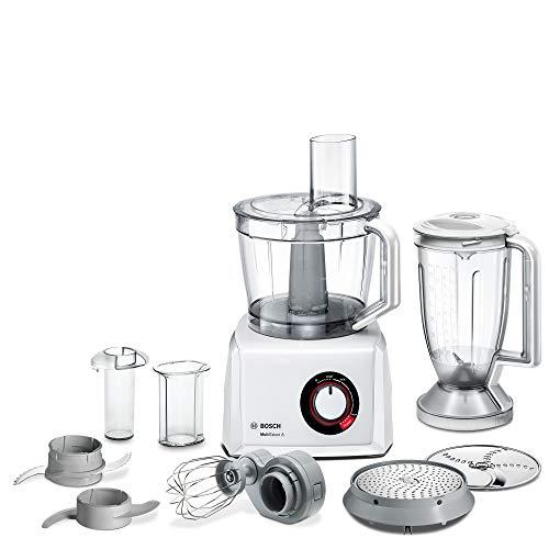 Bosch MC812W501 MultiTalent 8 Kompakt Küchenmaschine, Kunststoff, weiß