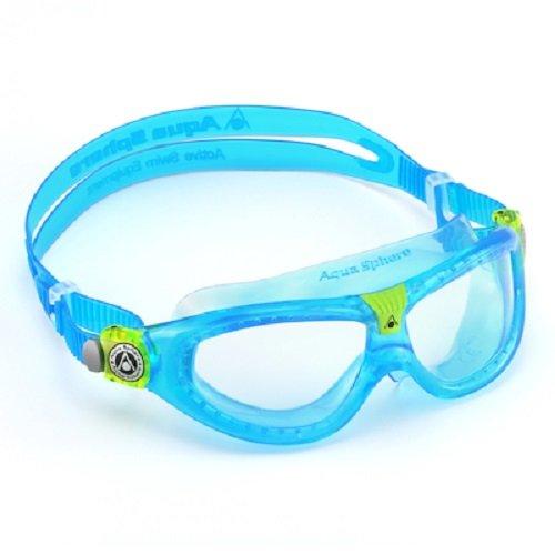 Aqua Sphere Seal Schwimmbrille Mädchen, Mädchen, Seal, Bleu / Lens Claire, 6-12 Jahre